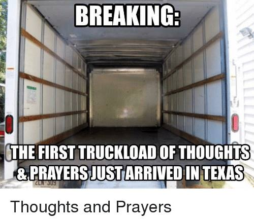 Texas prayer delivery